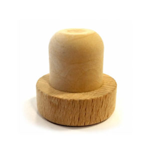 18.5mm Natural Wooden Synthetic Stopper