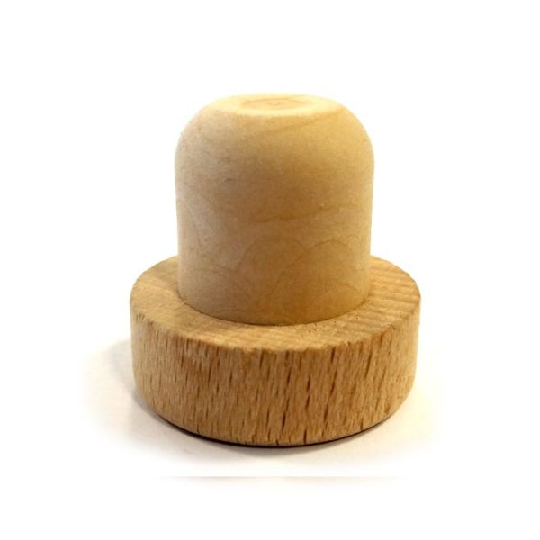 20mm Natural Wooden Synthetic Cork 29mm × 15mm