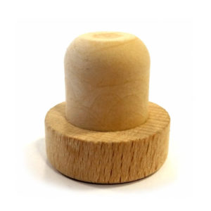 22.5mm Natural Wooden Synthetic Stopper