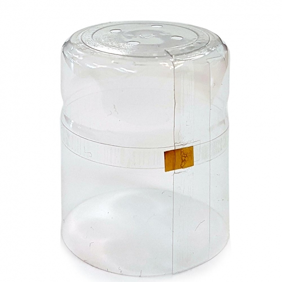 30.5x50 Clear PVC Shrink Cap