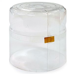 35x55 Clear PVC Shrink Cap