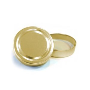 Gold Deep Jar Lid