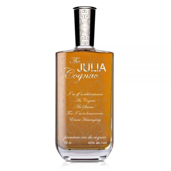 Julia 700ml Cognac Finished Example