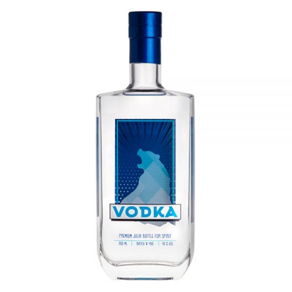 Julia 700ml Finished Vodka Example