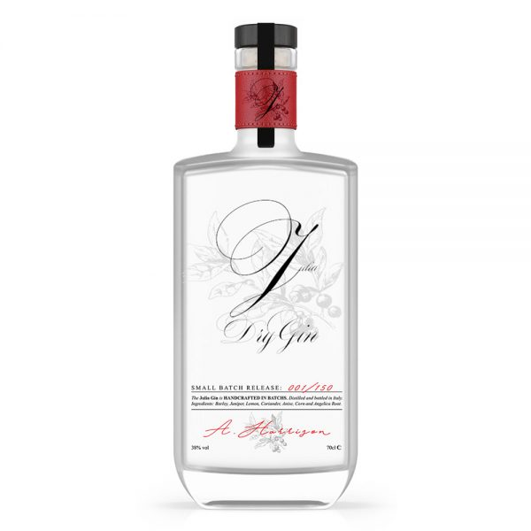 Julia 700ml Gin Finished Example