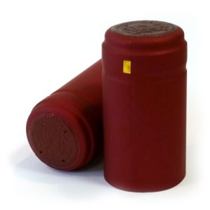 PVC Bordeaux 30.8 x 58mm