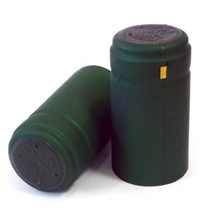 PVC Dark Matt Green 30.8 x 58mm
