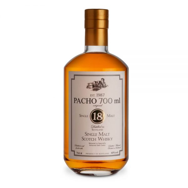 Pacho 700ml Whisky Finished Example