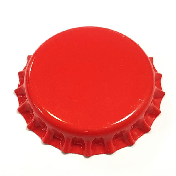 Red Beer Crown 26mm