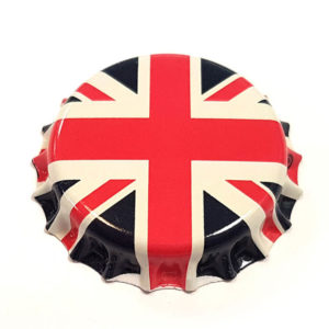 Union Jack Beer Crown 26mm