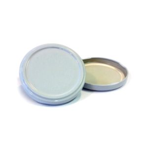 White Jar Lid