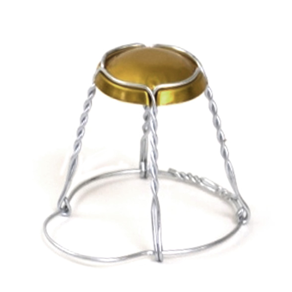Champagne Wire Hood Cage