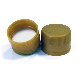 31.5 Gold Plastic Screw Cap PP1103