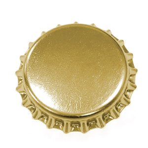 CC4271 Gold Sparkling Wine Crown 29mm