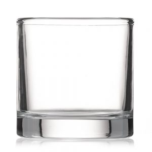 CG0500 500ml Round Candle Glass
