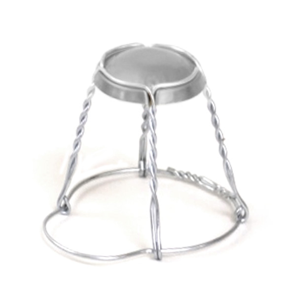 WH1978 Champagne Silver Cage